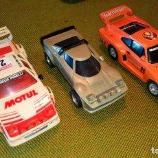Scalextric: LOTE DE BMW M1, PORSCHE Y STRATOS. Lote 131128908