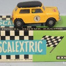 Scalextric: MINI COOPER. SCALEXTRIC. 4. Lote 131566394