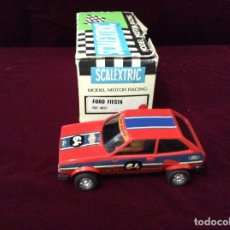Scalextric: SCALEXTRIC EXIN FORD FIESTA ROJO 4057 ORIGINAL. Lote 132424834