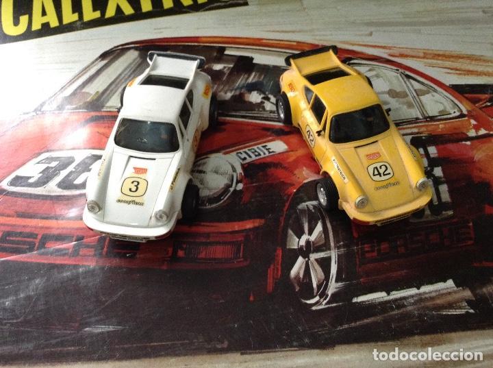 Scalextric: Circuito scalextric r c 28 exin con los dos coches - Foto 9 - 132456270