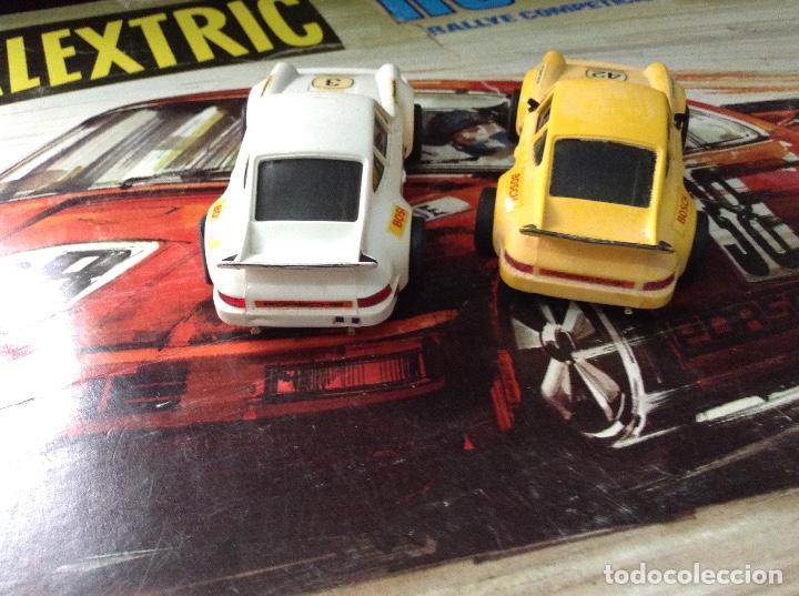 Scalextric: Circuito scalextric r c 28 exin con los dos coches - Foto 12 - 132456270