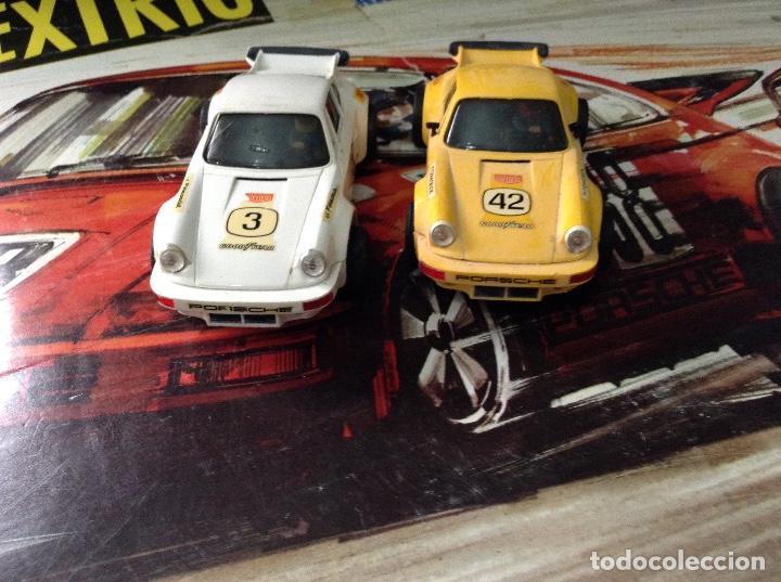 Scalextric: Circuito scalextric r c 28 exin con los dos coches - Foto 13 - 132456270