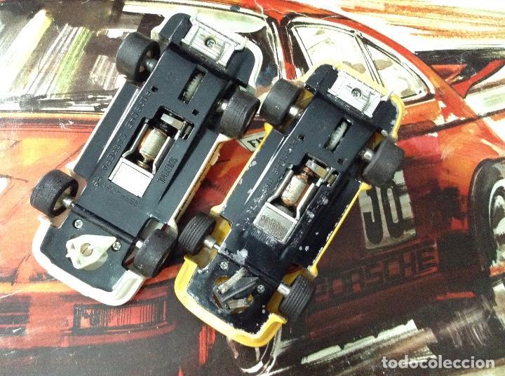 Scalextric: Circuito scalextric r c 28 exin con los dos coches - Foto 14 - 132456270