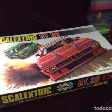 Scalextric: SCALEXTRIC CIRCUITO GT 38 CON SUS DOS COCHES EXIN AÑOS 80. Lote 132456766