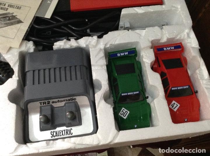 Scalextric: Scalextric circuito gt 38 con sus dos coches exin años 80 - Foto 3 - 132456766