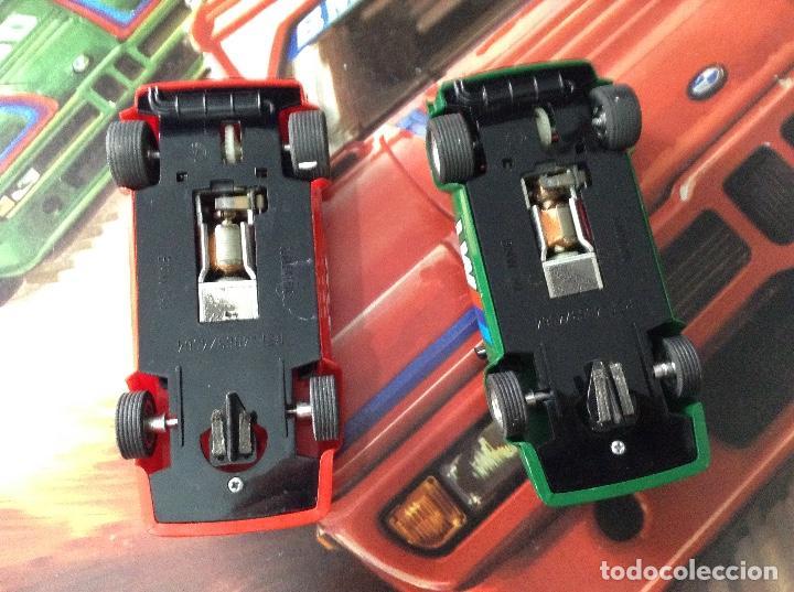 Scalextric: Scalextric circuito gt 38 con sus dos coches exin años 80 - Foto 4 - 132456766