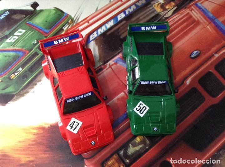 Scalextric: Scalextric circuito gt 38 con sus dos coches exin años 80 - Foto 5 - 132456766