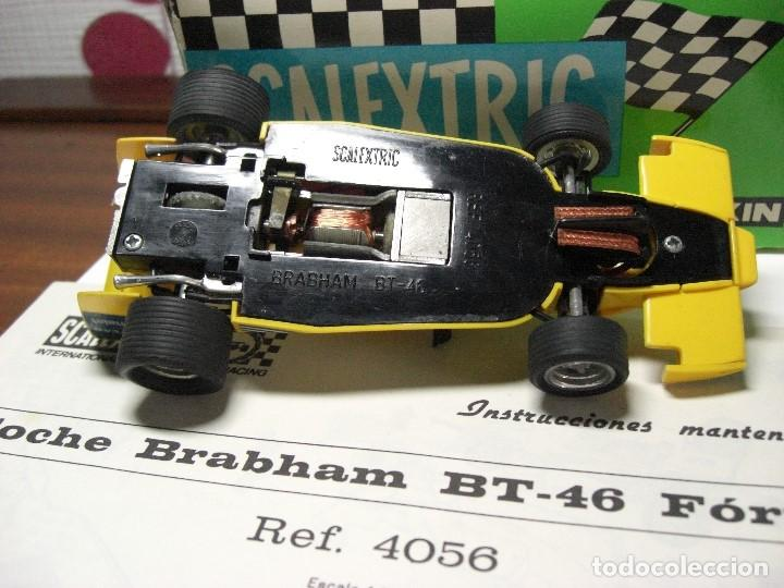 Scalextric: BRABHAM Amarillo Con caja e instrucciones (todo original). - Foto 3 - 132935806