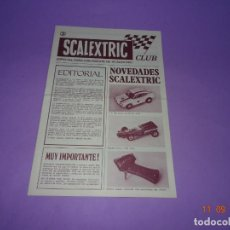 Scalextric: ANTIGUA REVISTA Nº 3 DEL CLUB SCALEXTRIC EXIN DEL AÑO 1970. Lote 133098726