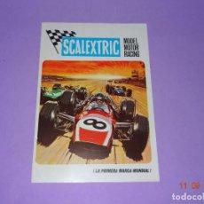 Scalextric: ANTIGUO FOLLETO CATALOGO MODEL MOTOR RACING DE SCALEXTRIC EXIN DEL AÑO 1969. Lote 133170382