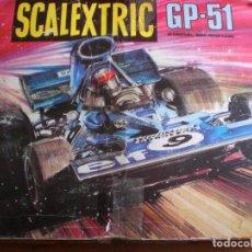 Scalextric: CIRCUITO SCALEXTRIX GP 51. Lote 134073186