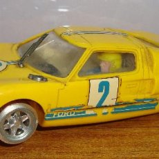 Scalextric: (TCTC-135) COCHE SCALXTRIC FORD GT REF C-35 AMARILLO Nº 2 . Lote 134092578