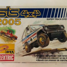 Scalextric: SCALEXTRIC STS 4X4 2005 ORIGINAL CON COCHES. Lote 134108441