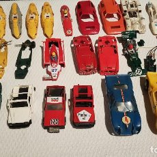 Scalextric: LOTE SCALEXTRIC EXIN DESGUACE SEAT 850 FORD GT STS COOPER. Lote 134135338