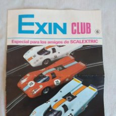 Scalextric: REVISTA/CATALOGO DE SCALEXTRIC EXIN CLUB Nº6/EXIN CASTILLOS-TENTE.. Lote 134733274