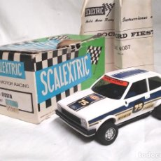 Scalextric: FORD FIESTA BLANCO REF. 4057 DE EXIN SCALEXTRIC AÑO 1980. Lote 134896142