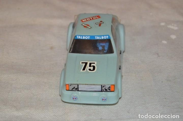 Scalextric: VINTAGE - TALBOT HORIZON SRS - EXIN SCALEXTRIC - MADE IN SPAIN - CARROCERIA SIN GRIETAS - ENVÍO 24H - Foto 4 - 135159034