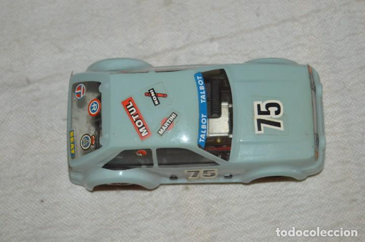 Scalextric: VINTAGE - TALBOT HORIZON SRS - EXIN SCALEXTRIC - MADE IN SPAIN - CARROCERIA SIN GRIETAS - ENVÍO 24H - Foto 6 - 135159034