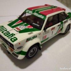 Scalextric: SCALEXTRIC. FIAT 131 ABARTH RALLYE MIL LAGOS 1979. DE VITRINA. Lote 135363618