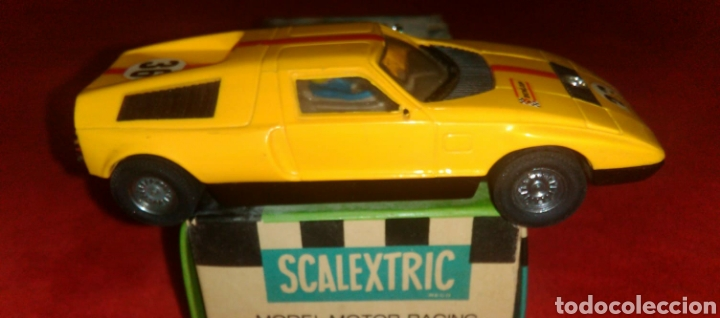 COCHE SCALEXTRIC - MERCEDES WANKEL C-111. REF: C-44 (Juguetes - Slot Cars - Scalextric Exin)