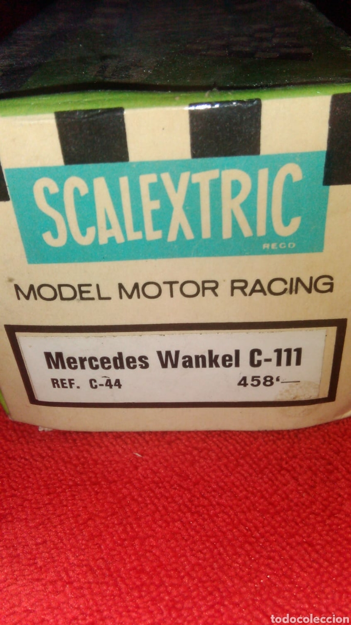 Scalextric: COCHE SCALEXTRIC - MERCEDES WANKEL C-111. REF: C-44 - Foto 2 - 135672790