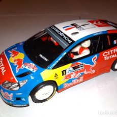 Scalextric: SCALEXTRIC C4 WRC LOEB. . Lote 135836706