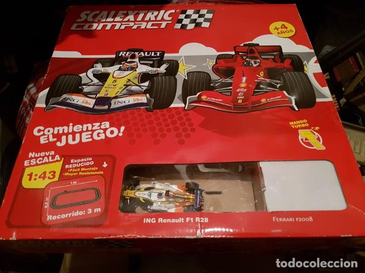 SCALEXTRIC TECNITOYS CIRCUITO SCALEXTRIC COMPACT COMPLETO (Juguetes - Slot Cars - Scalextric Exin)