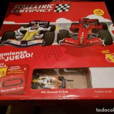 Scalextric: SCALEXTRIC TECNITOYS CIRCUITO SCALEXTRIC COMPACT COMPLETO. Lote 136308506