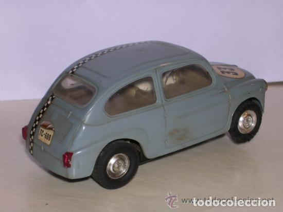 Scalextric: SEAT 600 . TC 600 , TRIANG SCALEXTRIC, FABRICADO EN ESPAÑA - COLOR AZUL OSCURO - Foto 3 - 136736882