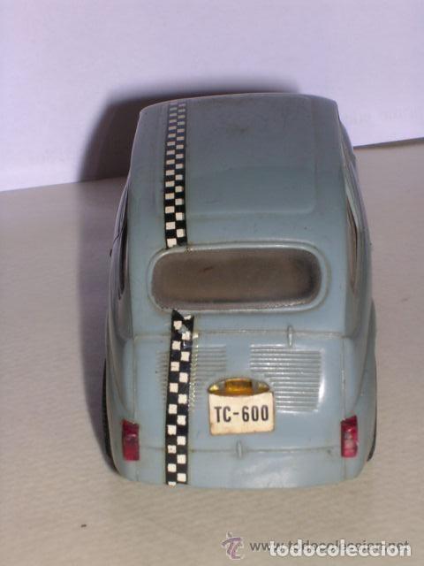 Scalextric: SEAT 600 . TC 600 , TRIANG SCALEXTRIC, FABRICADO EN ESPAÑA - COLOR AZUL OSCURO - Foto 4 - 136736882