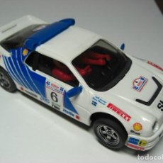 Scalextric: EXIN / SCALEXTRIC FORD RS 200 BLANCO SHELL.. Lote 137319286