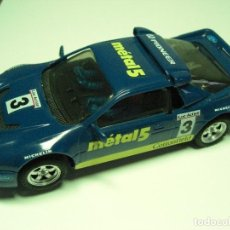 Scalextric: EXIN / SCALEXTRIC FORD RS 200 METAL 5. AZUL. CON INSTRUCCIONES.. Lote 137320278