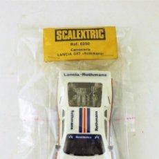 Scalextric: SCALEXTRIC LANCIA 037 ROTHMANS EXIN ORIGINAL CARROCERÍA A ESTRENAR. Lote 137508414