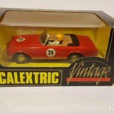 Scalextric: MERCEDES 250 SL VINTATGE DE EXIN. Lote 137539814