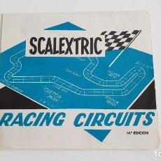 Scalextric: RACING CIRCUITS 14 EDICION FOLLETO ORIGINAL DE EXIN. Lote 137782170