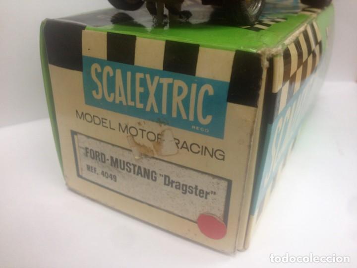 Scalextric: FORD MUSTANG DRAGSTER ROJO CON SU CAJA ORIGINAL REF 4049 SCALEXTRIC DE EXIN - Foto 2 - 138017422