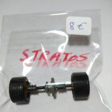 Scalextric: EJE COMPLETO TRASERO DE LANCIA STRATOS . Lote 139076426
