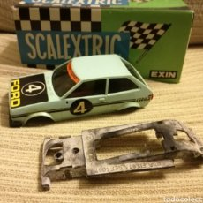 Scalextric: CARROCERIA Y CHASIS FORD FIESTA SCALEXTRIC EXIN. Lote 139116632