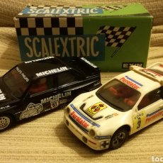 Scalextric: BMW M3 MICHELIN Y RS200 PUROLATOR SCALEXTRIC EXIN. Lote 139117290