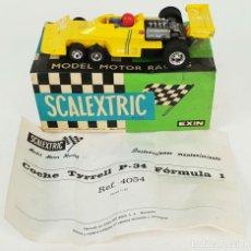 Scalextric: COCHE SCALEXTRIC. TYRRELL F-1 P-34. REF: 4054. CAJA ORIGINAL. CIRCA 1970. . Lote 139859158