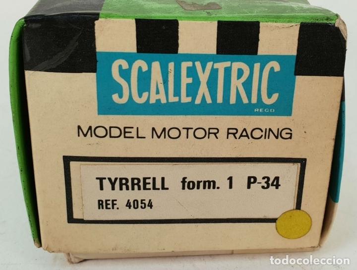 Scalextric: COCHE SCALEXTRIC. TYRRELL F-1 P-34. REF: 4054. CAJA ORIGINAL. CIRCA 1970. - Foto 12 - 139859158