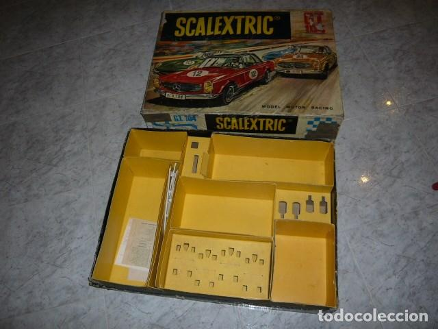 SCALEXTRIC EXIN CAJA CIRCUITO GT 104 (Juguetes - Slot Cars - Scalextric Exin)