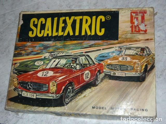 Scalextric: SCALEXTRIC EXIN CAJA CIRCUITO GT 104 - Foto 2 - 140177886