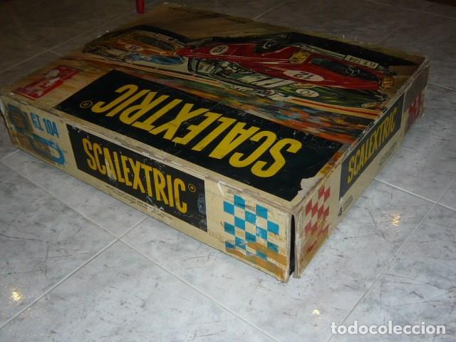 Scalextric: SCALEXTRIC EXIN CAJA CIRCUITO GT 104 - Foto 5 - 140177886
