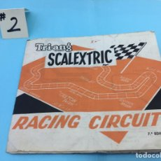Scalextric: SCALEXTRIC - RACING CIRCUITS 7ª EDICION. Lote 140617370