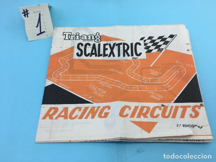 SCALEXTRIC - RACING CIRCUITS 7ª EDICION - #1 (Juguetes - Slot Cars - Scalextric Exin)