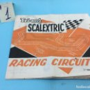 Scalextric: SCALEXTRIC - RACING CIRCUITS 7ª EDICION - #1. Lote 140620994