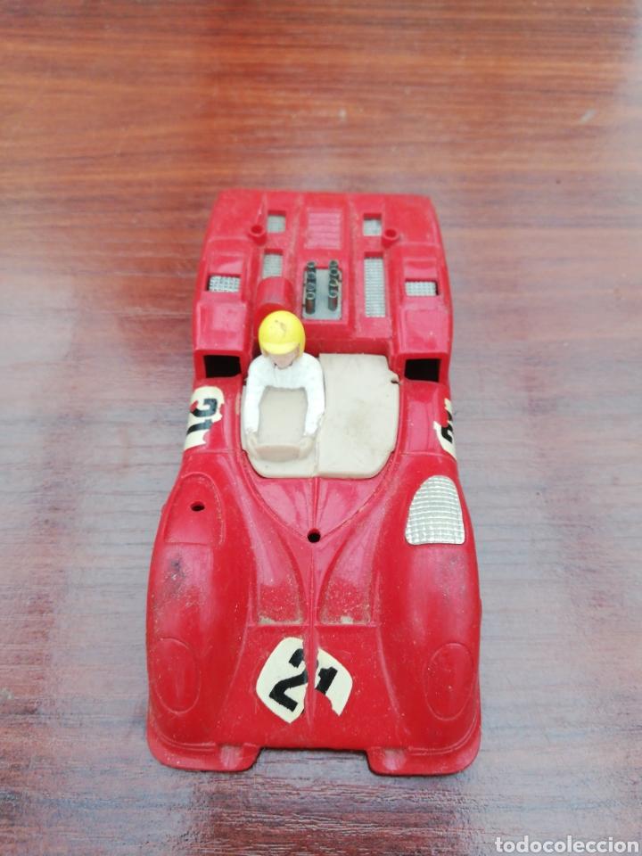 COCHE SCALEXTRIC CARROCERIA CHAPARRAL ROJO (Juguetes - Slot Cars - Scalextric Exin)