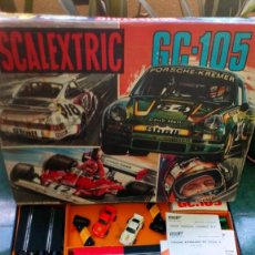 Scalextric: SCALEXTRIC GC 105 CON 2 PORSCHE 911 Y 2 FERRARI B3. Lote 140942206