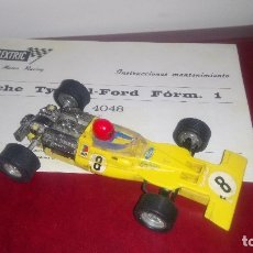 Scalextric: TYRRELL FORD, SCALEXTRIC, EXIN. Lote 114960963